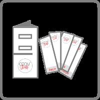 Флаєри, буклети, листівки